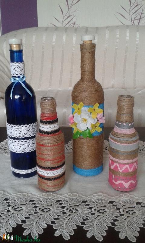 Festett üveg dekoráció - kisméretű - Anyáknapjára (magnoliakezmu) - Meska.hu