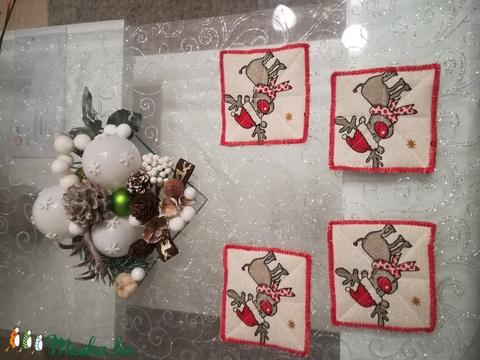 Egyedi poháralátét, karácsonyi (magnoliakezmu) - Meska.hu