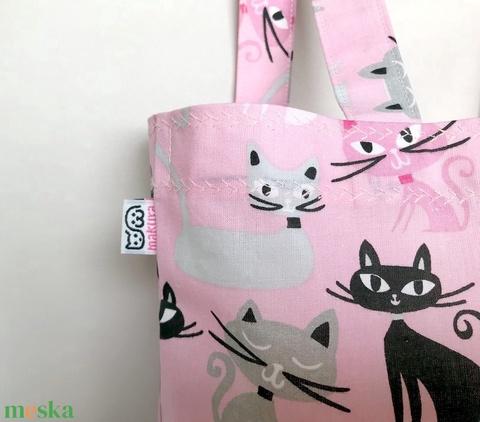 Miau Cicás Szatyor Rózsaszín (MaKuRa) - Meska.hu