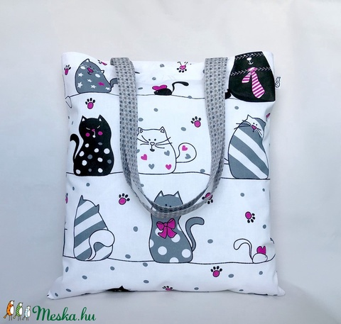 Pink Tappancs Cicás Szatyor (MaKuRa) - Meska.hu