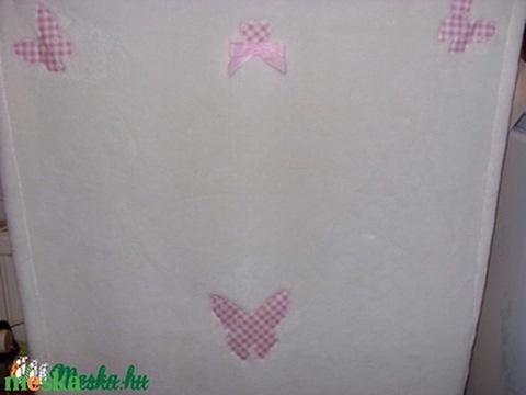 Szépséges lepkés ovis vagy baba takaró - 120 x 82 cm többféle és színben remdelhető (MamaMariko) - Meska.hu