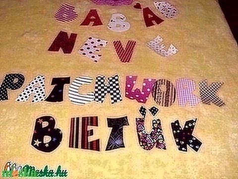 Tedd egyedivé gyermekeid ruháid - betűk - számok textilmatrica  - vasalható betűk (MamaMariko) - Meska.hu