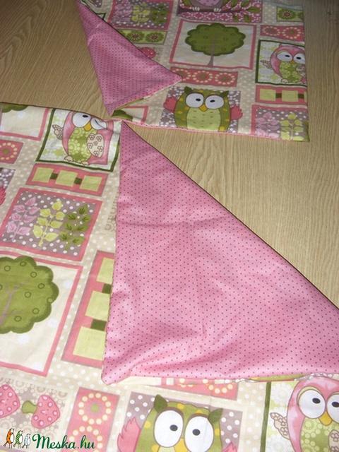 4 db-os ovis szett - ágynemű huzat, ovizsákok - választható textilből - 100% pamut (MamaMariko) - Meska.hu