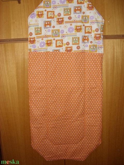 Egyharmados Ovis derékalj lepedő - bélelt, srég gumis sarokkal - választható anyagból  100%  pamut - játék & gyerek - Meska.hu
