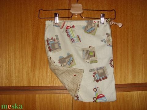 Torna vagy tisztasági zsák -fiús  80 féle választható textilből méretre is  100% pamut textil - játék & gyerek - Meska.hu