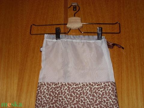 Kimérős termékekhez termék téma design zsákok,, újra használható, mosható Zöldülj Te is - táska & tok - bevásárlás & shopper táska - zöldség/gyümölcs zsák - Meska.hu