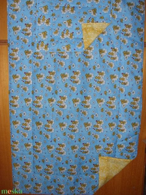 Bélelt 2 db-os ágynemű ovisoknak is - méhecskés és elefántos kevert szálas design textilek - játék & gyerek - Meska.hu