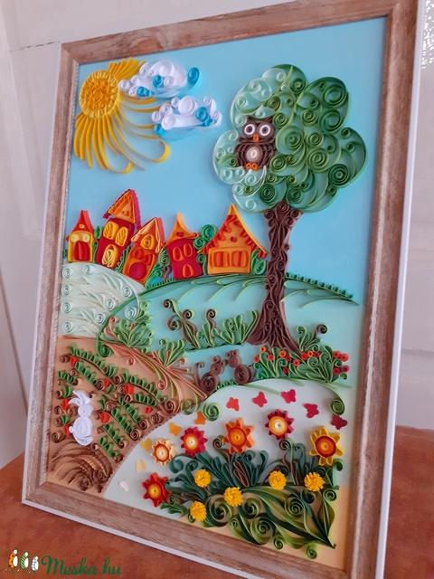 Falikép és szekrényre is állítható kép (Maria365) - Meska.hu