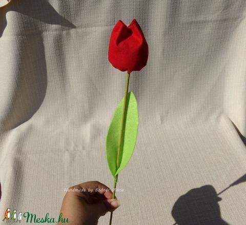 Textil tulipán (Nagy, 6 db) (MariaBodnar) - Meska.hu