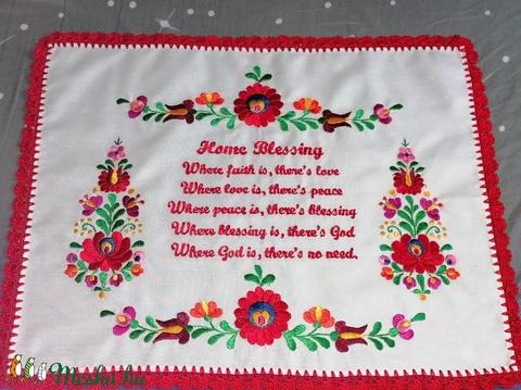 Angol nyelvű házi áldás (Mariann1970) - Meska.hu