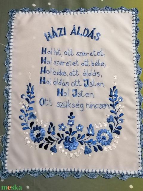 Kék mese házi áldás - Meska.hu