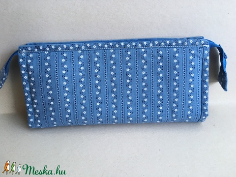Irattartó pénztárca - világos kék (marvika) - Meska.hu
