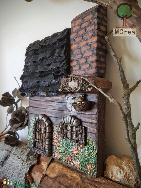 Domo Kun Gardeno festett fa dekoráció - Meska.hu