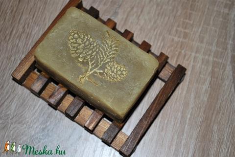 Fenyő szappan menta főzettel egyedi természetes különleges ajándék szülinapra névnapra száraz normál vegyes zsíros bőrre (medalin) - Meska.hu