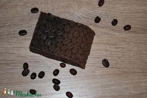 Extra kávé vajas szappan egyedi különleges természetes mentes ajándék szülinapra névnapra (medalin) - Meska.hu