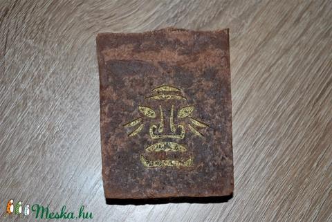 Barna sörös mélytisztító sampon szappan hajra természetes natúr környezettudatos egyedi ajándék szülinapra névnapra (medalin) - Meska.hu