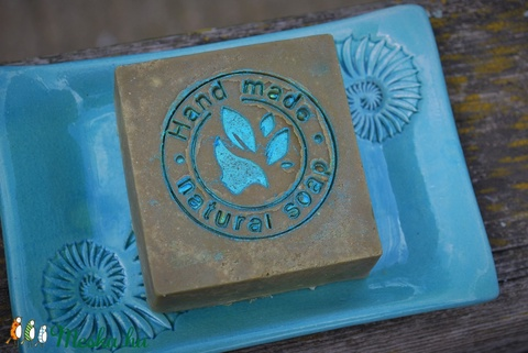 Pisztácia olajos szappan Borneói faggyúdióval, csalán főzettel vitorlás hajó mintával ajándékba névnapra születésnapra (medalin) - Meska.hu