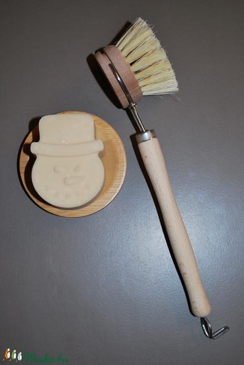 Vegán mosogatószappan cubeba illóolajjal zöld dió főzettel zsíroldó öko természetes mosogatószer tisztítószer szappan (medalin) - Meska.hu