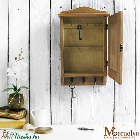 Kulcstartó szekrény, kulcsos szekrény, szőlő  - Meska.hu