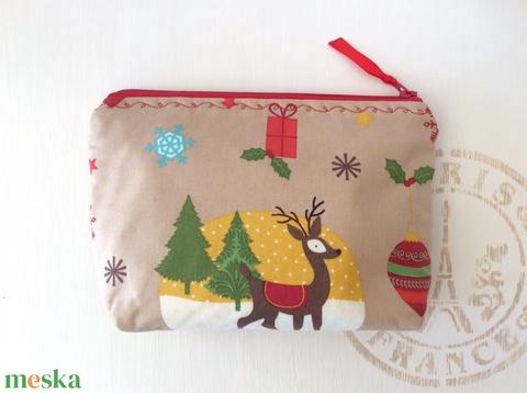 AKCIÓ - Bambis kozmetikai táska, irattartó - Karácsonyra - Artiroka design (Mesedoboz) - Meska.hu