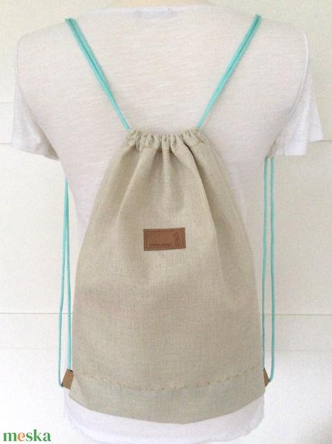 Ha itt egy Láma, nincs már dráma! - Láma mintás egyedi gymbag hátizsák - tornazsák edzéshez, úszáshoz  - Artiroka design - Meska.hu