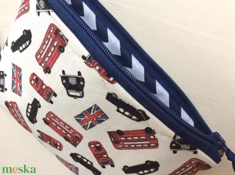 London mintás irattartó, pénztárca - I love London - Meska.hu