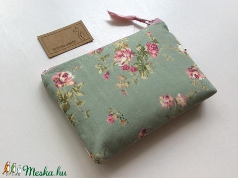Romantikus, rózsás irattartó pénztárca - Artiroka design (Mesedoboz) - Meska.hu