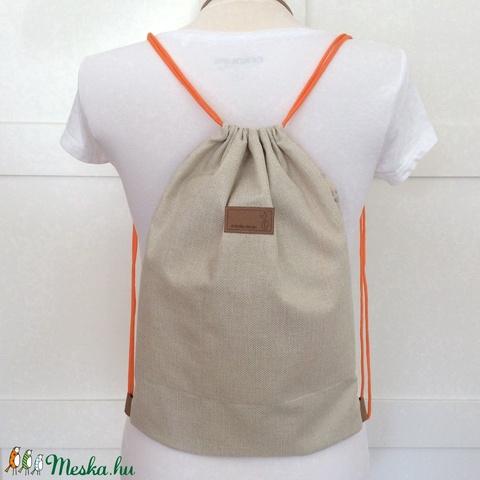 Őzike vagy bagoly mintás egyedi gymbag hátizsák- rendelhető - edzéshez, kiránduláshoz - Artiroka design - Meska.hu