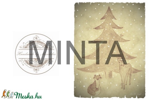 Karácsonyi manó, irattartó pénztárca, neszesszer - Artiroka design (Mesedoboz) - Meska.hu