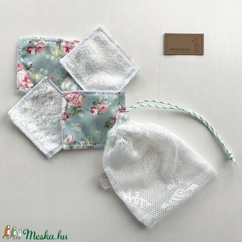 Arctisztító párna szett, bambusz frottír és prémium pamut textil felhasználásával - Artiroka design - Meska.hu