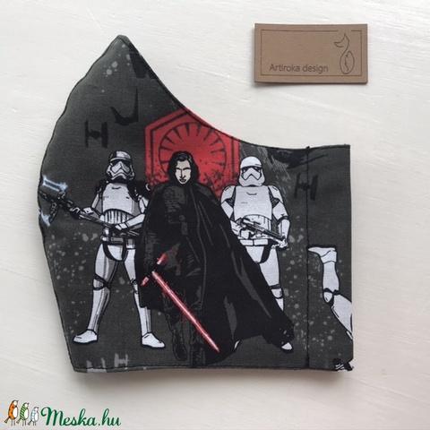 Star Wars mintás prémium arcmaszk, szájmaszk, maszk, gyerekmaszk - Artiroka design (Mesedoboz) - Meska.hu