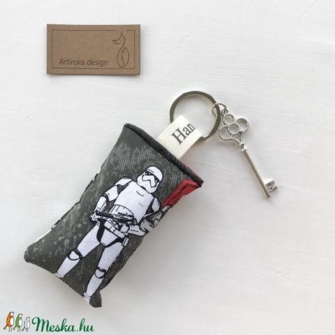 Star Wars mintás kulcstartó, HOPE azaz remény feliratú bronz színű kulcs dísszel - Artiroka design (Mesedoboz) - Meska.hu