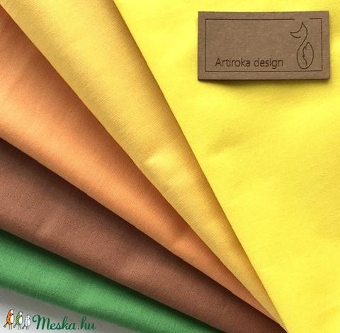 Egyszínű arcmaszkok, föld színekben  - szájmaszk, maszk, gyerekmaszk - Artiroka design - Meska.hu