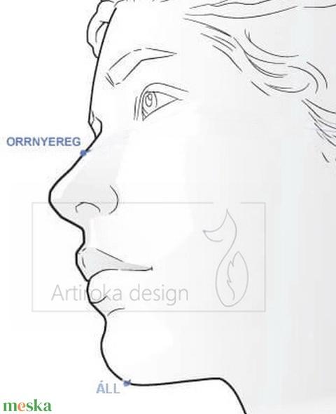 Színes, különleges piros - türkiz mintás arcmaszk, szájmaszk, maszk - S méretben -  Artiroka design - Meska.hu