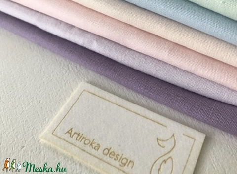 Egyszínű lila vagy pasztell lila színű arcmaszk - szájmaszk, maszk - Artiroka design - Meska.hu