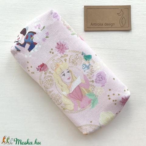 Prémium, hercegnő mintás, bélelt papírzsebkendő tartó - Gyereknap - Artiroka design - Meska.hu