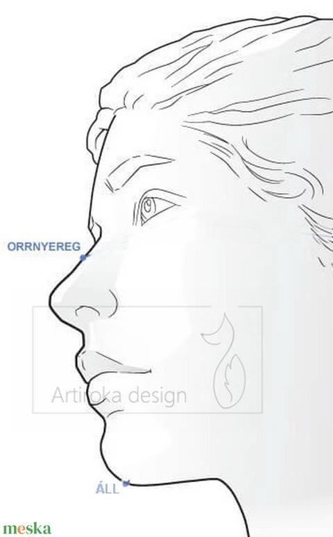 Elza és Anna mintás prémium arcmaszk, szájmaszk, maszk - Jégvarázs - Artiroka design - maszk, arcmaszk - gyerek - Meska.hu