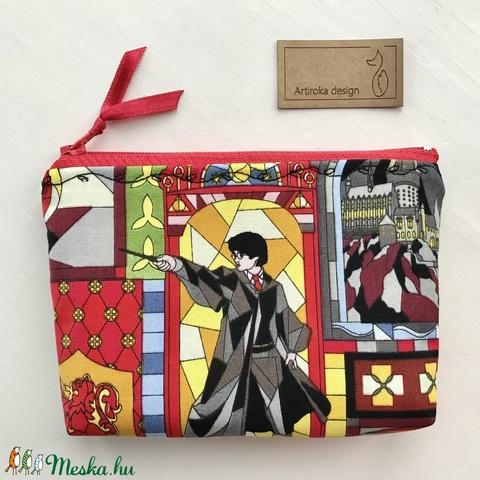 Harry Potter mintás prémium irattartó pénztárca -  Artiroka design - Meska.hu