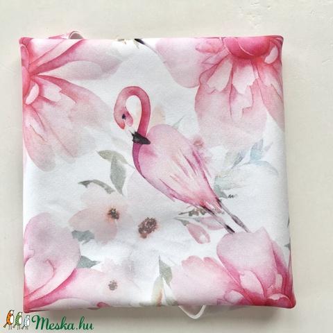 Flamingó mintás prémium újraszalvéta - Nowaste - Zerowaste - Artiroka design  - Meska.hu