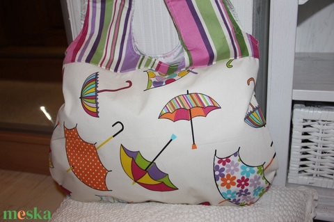 vidám esernyős táska - Meska.hu