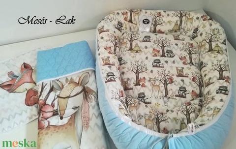 Babaváró garnitúra erdei állatos - játék & gyerek - babalátogató ajándékcsomag - Meska.hu