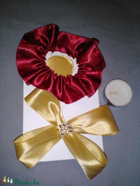 Karácsonyi asztali mécses vagy gyertya tartó dísz (mikusbea) - Meska.hu