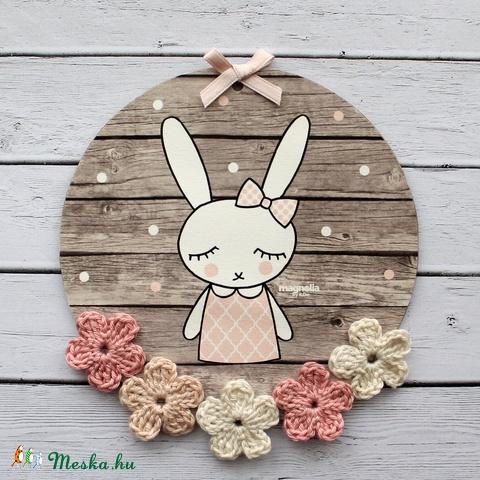 Tavaszi ajtódísz (milady) - Meska.hu
