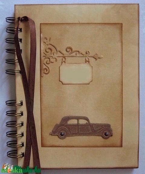 Az én autóm - apának - szülőköszöntőalbum - esküvő - Emlékmegőrző - autós kirándulás - autókedvelőknek - születésnap  - Meska.hu