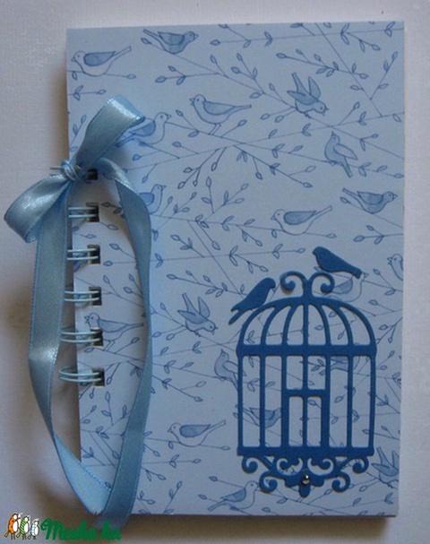Pillanatok fotói - album/napló - madaras bélyegzőmintával - tematikusesküvő - házassági évforduló - családi ünnepekl  - Meska.hu