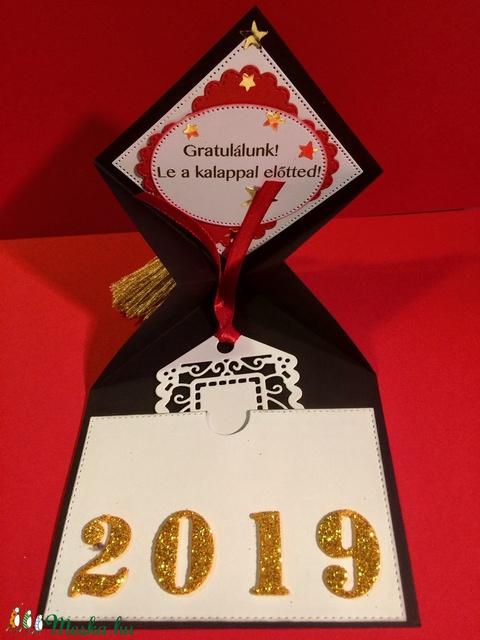 Ballagás, diplomaosztó, pop-up képeslap, pénzátadó, ajándékkísérő (Mimizuku) - Meska.hu