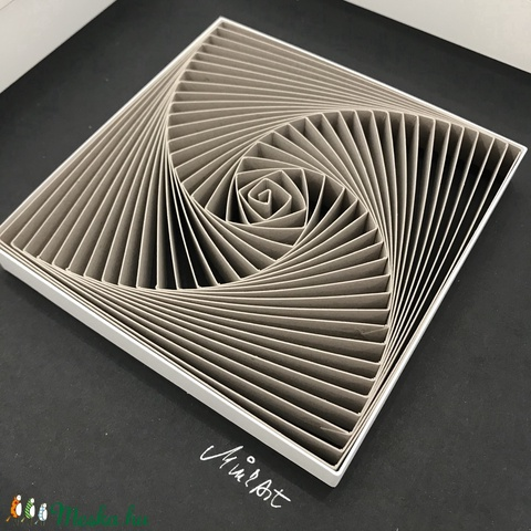 Modern, Fiatalos 3D Falikép - barna - Fekete Modern Lakáskiegészítő Minimalista Stílusban. (Minkart) - Meska.hu