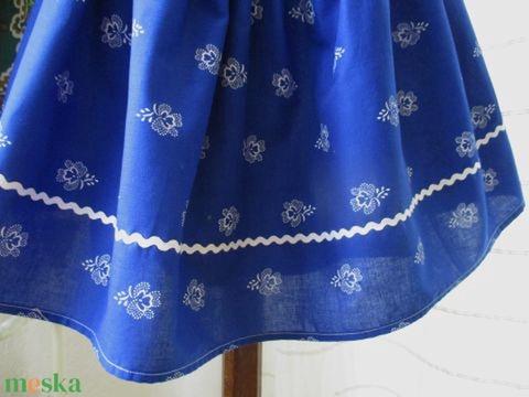 Kékfestő szoknya (Mintamokus) - Meska.hu