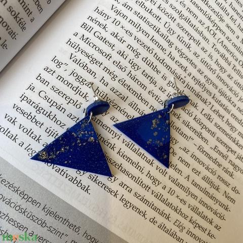 Kék háromszög füli (MLili) - Meska.hu