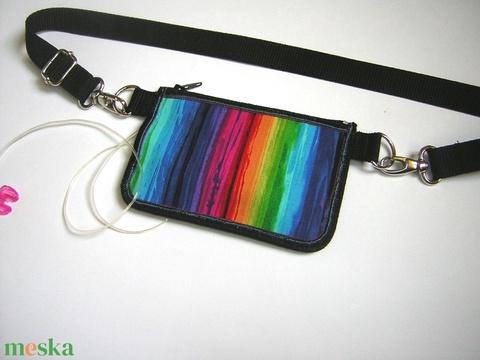 Inzulinpumpa tartó tok 2in1 színes - Meska.hu